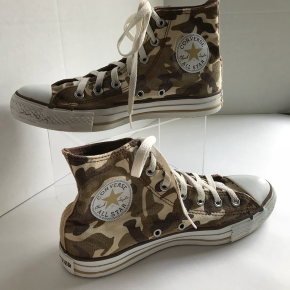 6102a3441329 Converse Shoes - Converse Chuck Taylor All Star Hi Tops Camouflage
